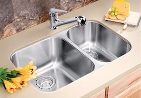 BLANCO Double SINK ** HOME DEPOT SELLS IT @$496 $350.00