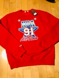 NBA All-Star 91 Michelle and Ness Crewneck Mississauga, L5V 1M1