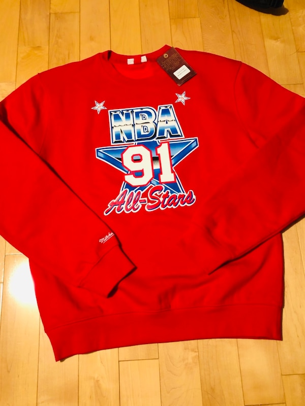 NBA All-Star 91 Michelle and Ness Crewneck