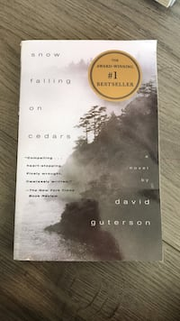 Snow Falling on Cedars by David Guterson  New Westminster, V3M