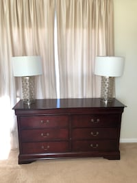 Dresser with two nightstands