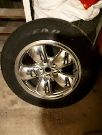 Good Year All Season Tire on Rim for Dodge Ram