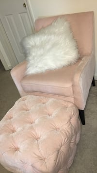 Accent Chair and Ottoman  Frederick, 21702