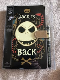 Nightmare Before Christmas Journal and Pen  Clare, 48617