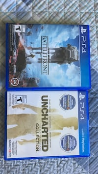 two Sony PS4 game cases North Bay, P1B