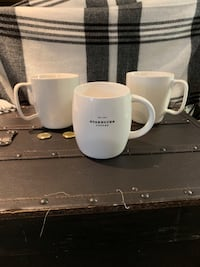 Collectable Starbucks 2004 & 2008 mugs Wilmot, N3A