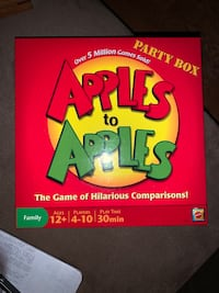 """Apples to Apples """"Party Box"""" Alexandria, 22314"""