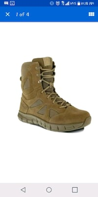 Reebok Tactical Army Boots, Size 8.5 Men/10 Women Lancaster
