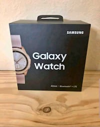 brand new sealed samsung galaxy watch lte unlocked rose gold  Owings Mills