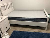 Hemnes Bed Frame /Mattress / Lonset Base Toronto, M1C 5G3