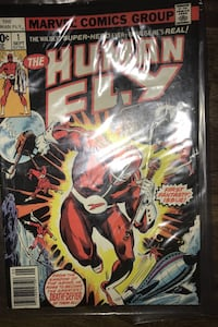 Human FLY comic book. 1977 Sept 1st issue.