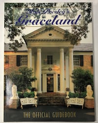 Elvis Presleys Graceland Official Guidebook 1993 Tourist Memphis Tn Clarksville
