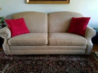 gray fabric 2-seat sofa Woodbridge, 22192