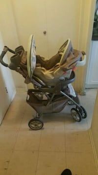 baby's black and gray stroller Mississauga, L4Y 4G9
