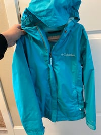 Girls Columbia Rain Jacket