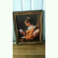 A Young Girl Reading by Jean Honoré Fragonard Laval, H7T