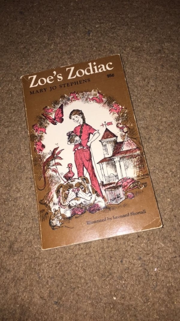 Zoe's zodiac by Mary Jo Stevens book 0