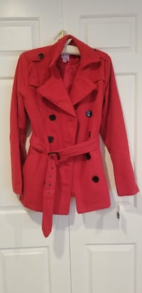 women's red trench coat Hyattsville, 20784