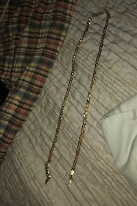 Cuban link chain (real gold) Waltham, 02453