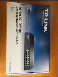 TP-LINK 16 puertos Switch Madrid, 28040