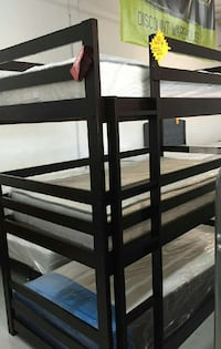 Twin Triple Bunk bed 3 free mattress  Las Vegas, 89109
