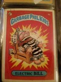 Garbage Pail Kids Electric Bill Silver Spring, 20906