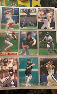 95 fleer ultra.Pudge griffey bonds larkin randy johnson BASEBALL CARDS Syosset, 11791