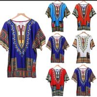 African Clothing for Womens Shirt  Mens Classic Bazin Riche Dashiki Tops  B Oslo, 0976