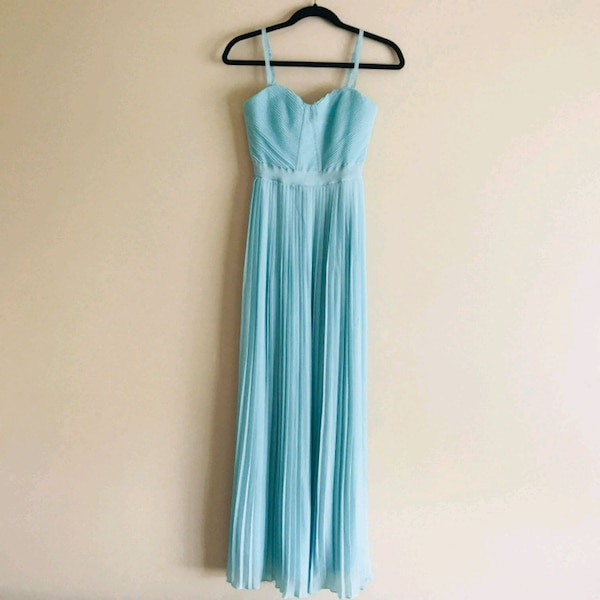 Mint long dress small size(negotiable)