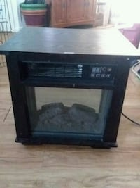 black and brown electric fireplace Knoxville, 37920