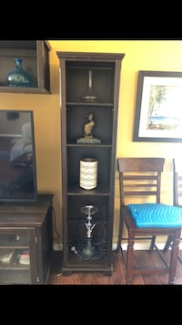 TV stand with side and top shelves Lake Forest, 92630
