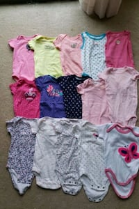 Baby Girl Cloth Size 6 M