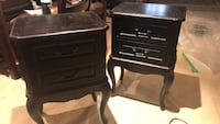 Solid wood Bombay bedside tables  Bolton, L7E 5X9