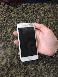 silver iPhone 6 with case Kelowna, V1Z 1X5