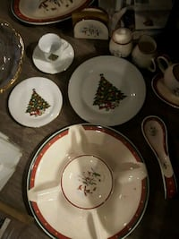 Christmas dishes,  platters,  and more Austin, 78741