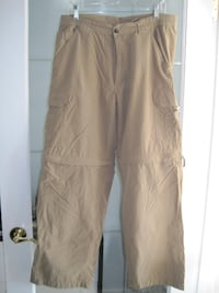 Retreat Outdoor Hiking Zippered Pants Shorts - Size 34/30