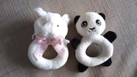 Baby rattle  $8 for two Toronto, M9A 4M6