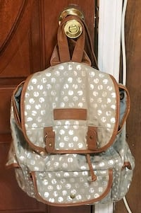 American Eagle Gray and Brown Backpack Mobile, 36605