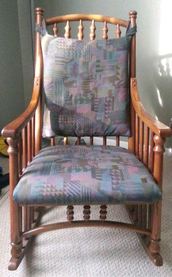 Strange Rocking Chair Rocker Virginia House Oak Wood Gmtry Best Dining Table And Chair Ideas Images Gmtryco