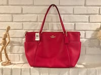 leather coach tote bag 马卡姆, L3P 6W2