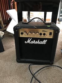 black and white Marshall guitar amplifier Lino Lakes, 55014