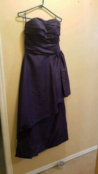 Dark purple bridesmaid/graduation dress New Westminster, V3M 1X1