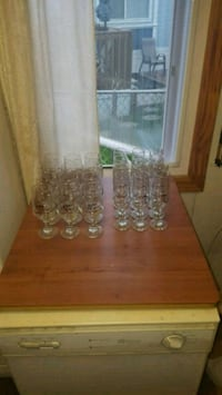 Olympic champagne and wine glasses set Winnipeg, R2H 1Y2