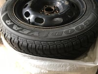 Snow tires only used for two season. In great shape.  Vaughan, L4H 1N7