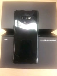 black Samsung Galaxy Note 9 with box Montgomery Village, 20886
