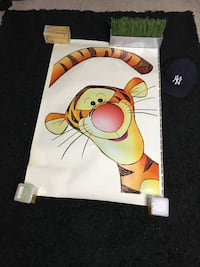 Disney's Tiger the movie year 2000 wall decals