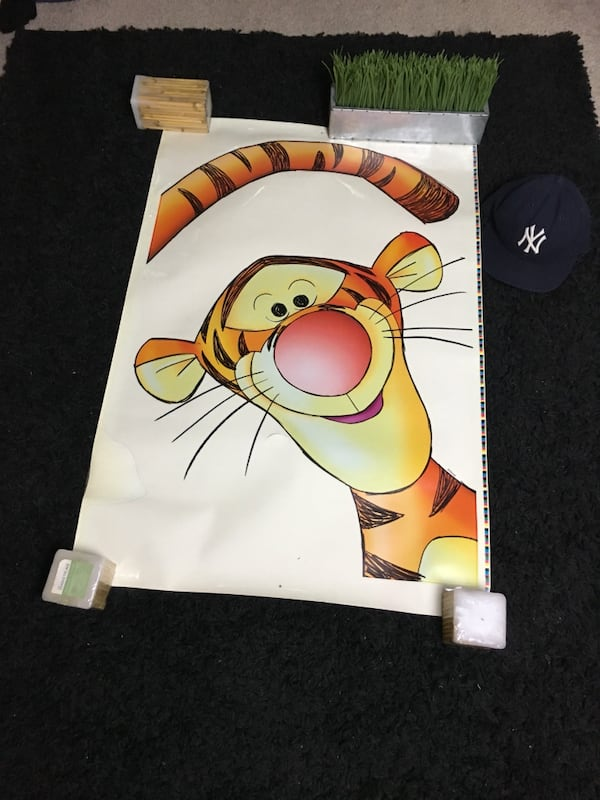 Disney's Tiger the movie year 2000 wall decals a07d989f-09db-4bc2-8cc6-ea75d5e61ced