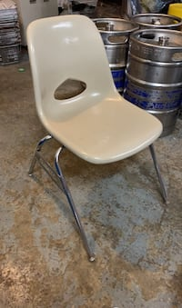 Hard plastic chairs