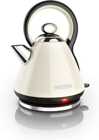 Used Black & ‿Decker KE2900RC Cordless Electric Kettle Stainless Steel Red 1.7L, 1.7L Toronto