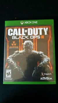 Call of Duty Black Ops 3 Xbox One game case Elmont, 11003